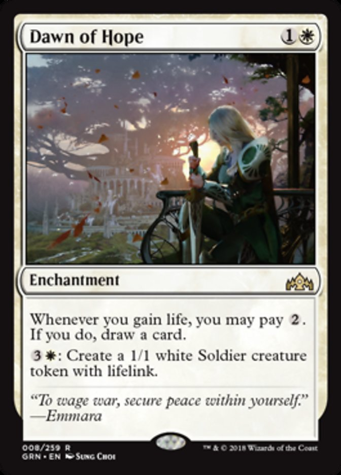 There Is Also Hope That Life Gain Can Find Some Support In The Next Ravnica Expansion When Black White Guild